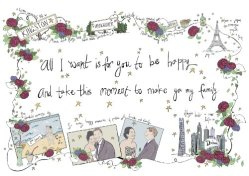 Bespoke Wedding Illustration