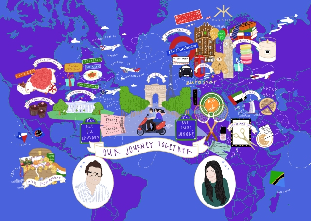 Bespoke Illustration Map