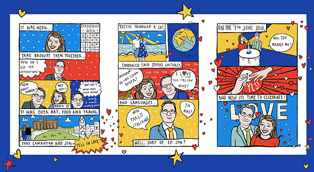 Pop Art Wedding Invitation One Of My Most Favourite Bespoke Stationery Commissions EVER Yes Its Worth The Capital Letters Was From Samantha And