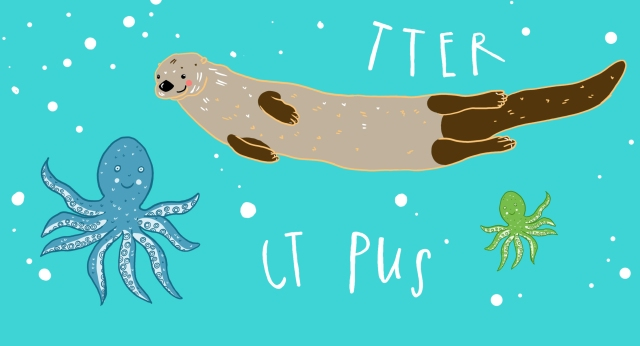 O Is For Missing Type Otter